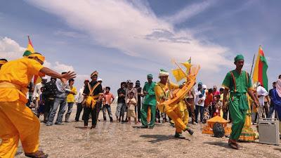 """Semah Laut, Ritual Nelayan Di """" Rokan Hilir """" Riau"""