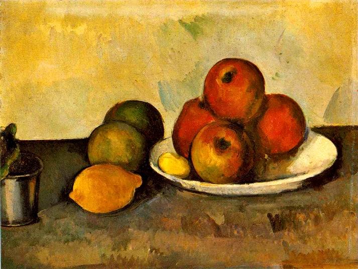 Las manzanas de Cézanne