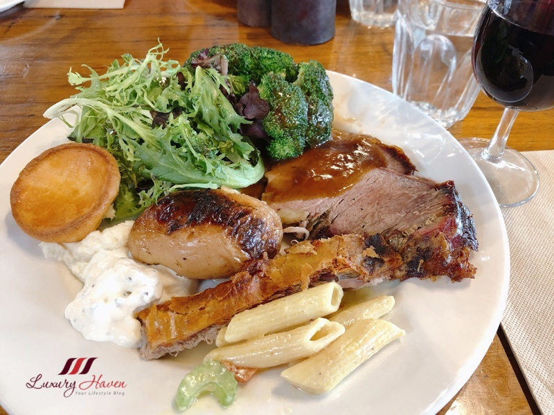 fergusson winery spit roast lunch review