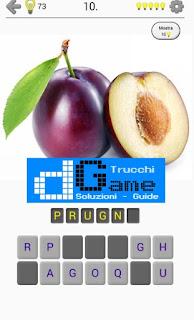 Soluzioni Frutti, verdure e noce livello 10