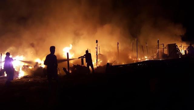 بالفيديو: حريق بمخيم للاجئين السوريين شرق لبنان يودي بحياة شخصين احدهما طفل.