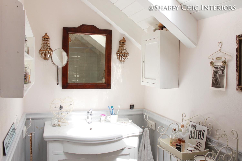 Bagno Shabby Chic Moderno : Bagno stile shabby moderno scaffale porta oggetti da bagno in