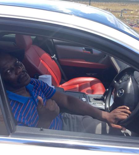 Young Man Buys First Car