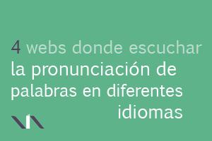 4 webs de pronunciación de idiomas