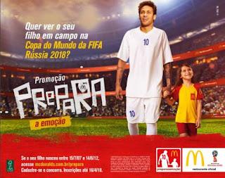 Promoção McDonald's  2018