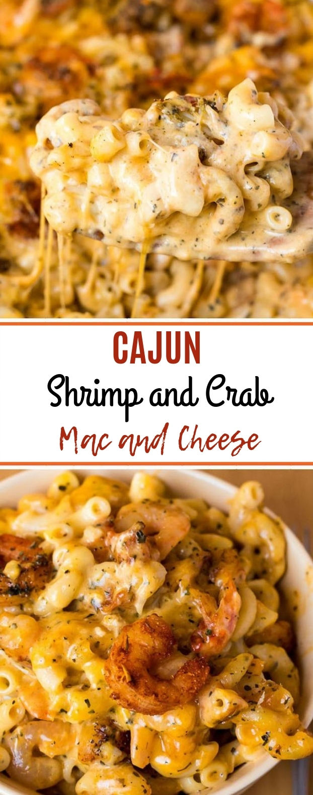 Cajun Shrimp and Crab Mac and Cheese #macandcheese #dinner