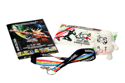 Promociones en el stand del Tamashii World Tour 2017 Barcelona - Tamashii Nations