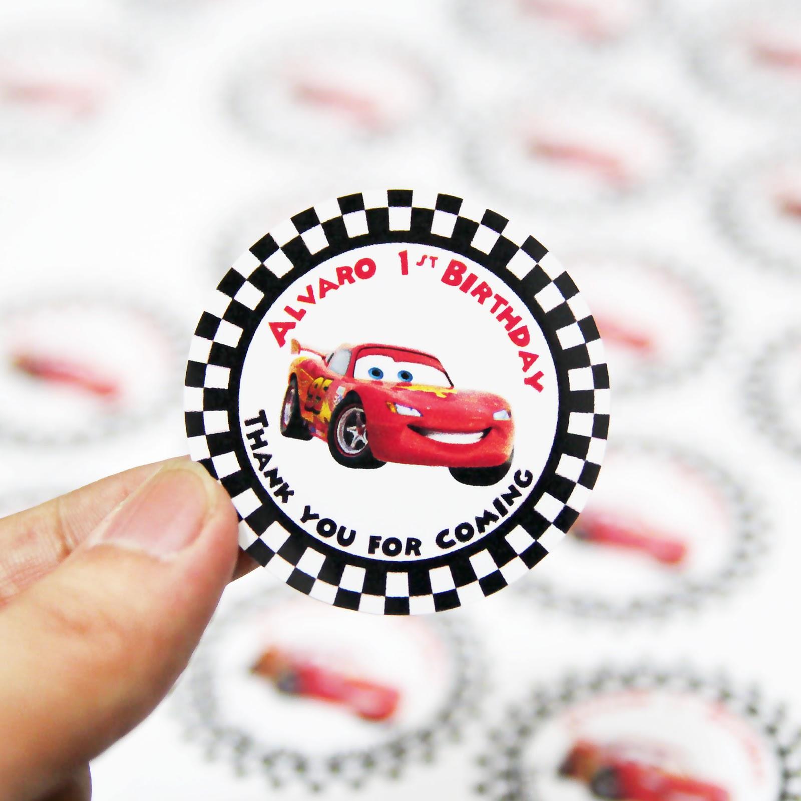 Comment on this picture ulang tahun anak contoh undangan kartu apps - Stiker Ultah Cars