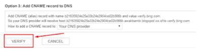 Mendaftakan Blog Ke Bing dan Yahoo