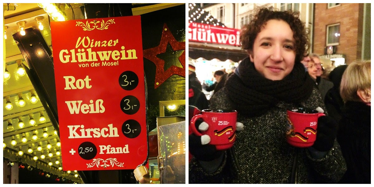 german mulled wine sign