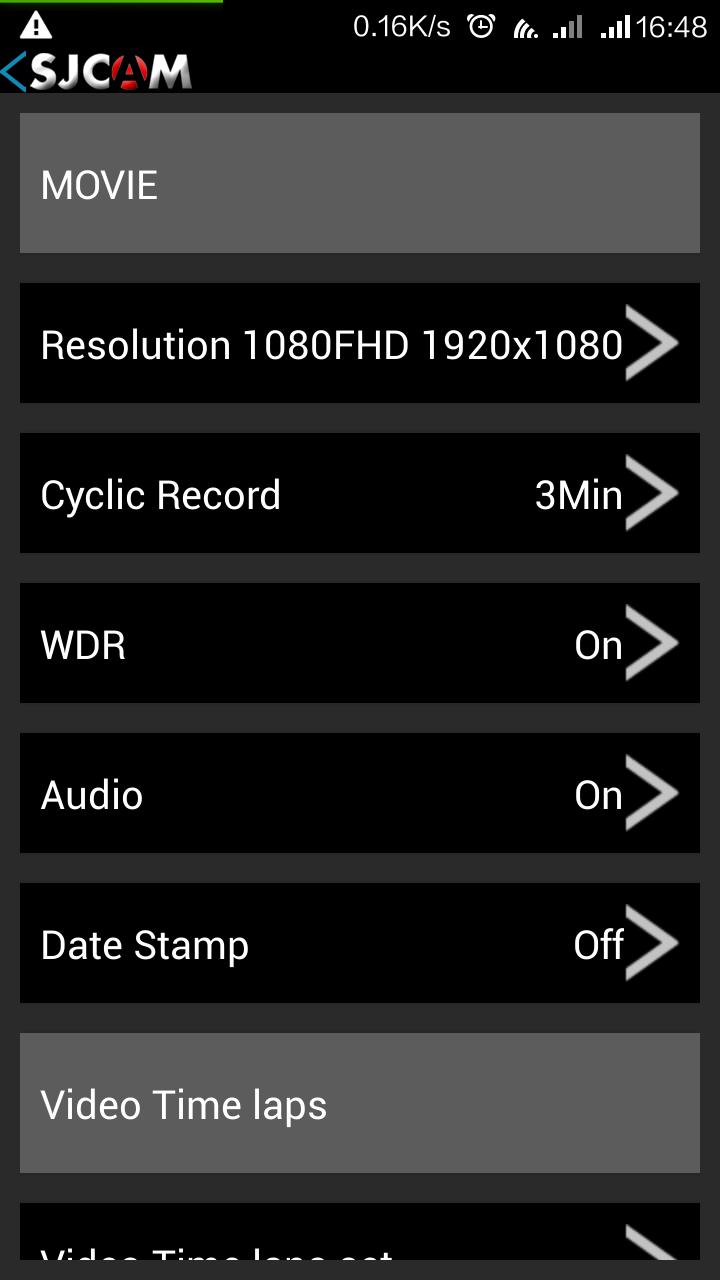 SJ4000 WIFI 版 手機App介紹