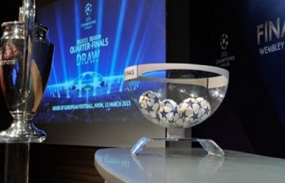 مباشر الان  قرعة ربع نهائي دوري أبطال أوروبا: مشاهدة البث المباشر والتغطية الخاصة