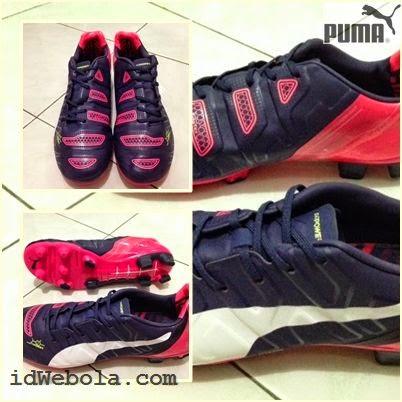 Sepatu Bola Puma Evopower II Navy