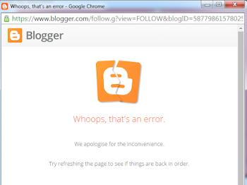 Button Follow Terbaru diBlog Tak Boleh guna