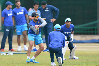 Indian Team At Practice