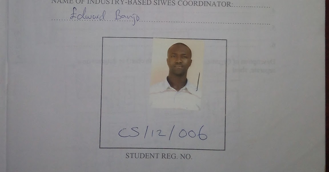 siwes log book Siwes report student i would like to state that the siwes programme is a very relevant and necessary programme for all students that must be taken advantage of by.