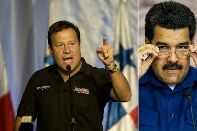 ¡SE LE VOLTEÓ EL AMIGO! Presidente de Panamá acusa a Maduro de la violencia en Venezuela