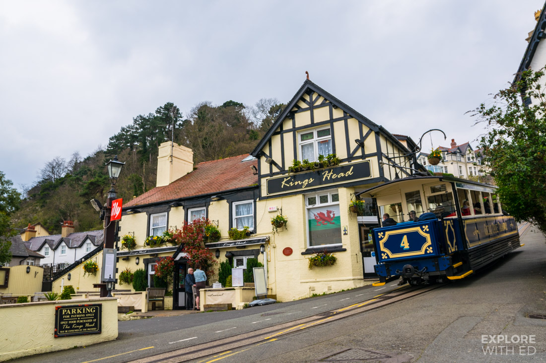 The Kings Head pub in Llandudno
