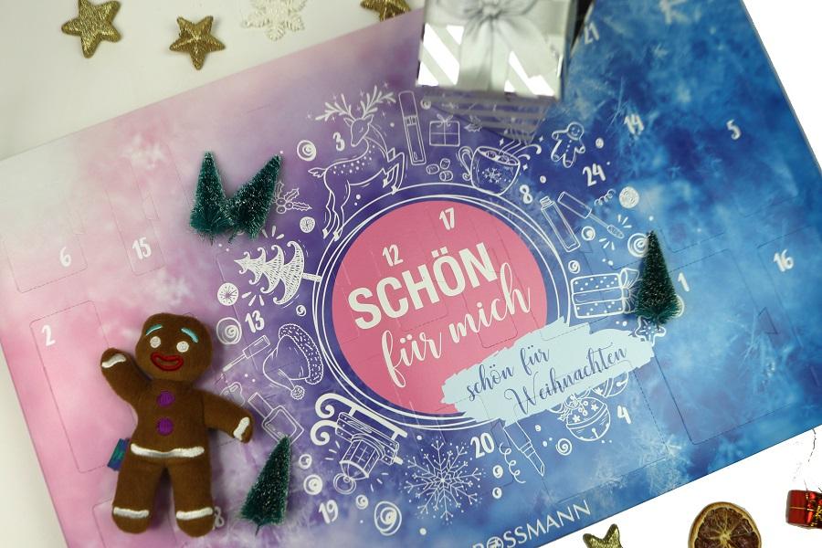 Weihnachtskalender Rossmann.Glam Shine Beautyblog Rossmann Schön Für Mich Adventskalender