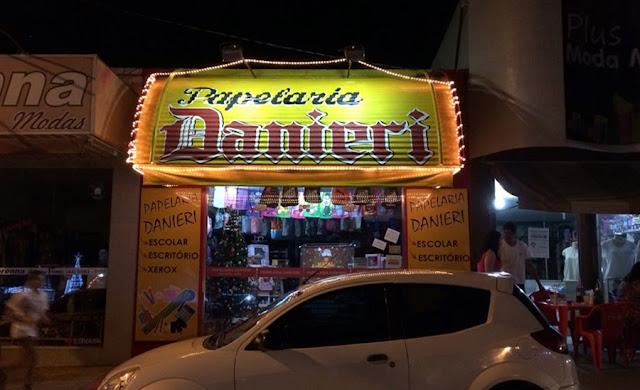 Papelaria Danieri deseja um Feliz Natal a todos os clientes e amigos...