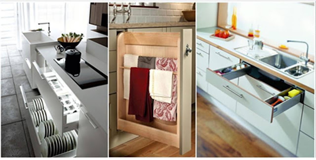 KITCHEN CABINETS WITH DRAWERS FUNCTIONAL STORAGE SOLUTIONS
