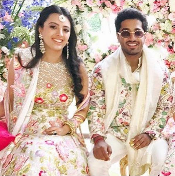 Sawlani wedding dress