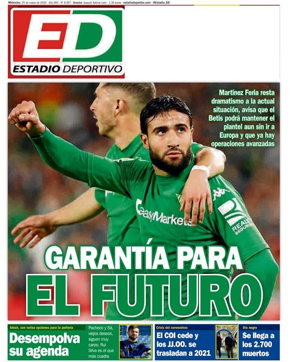 """Betis, Estadio Deportivo: """"Garantía para el futuro"""""""