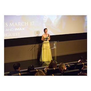 Emma Watson in yellow dress