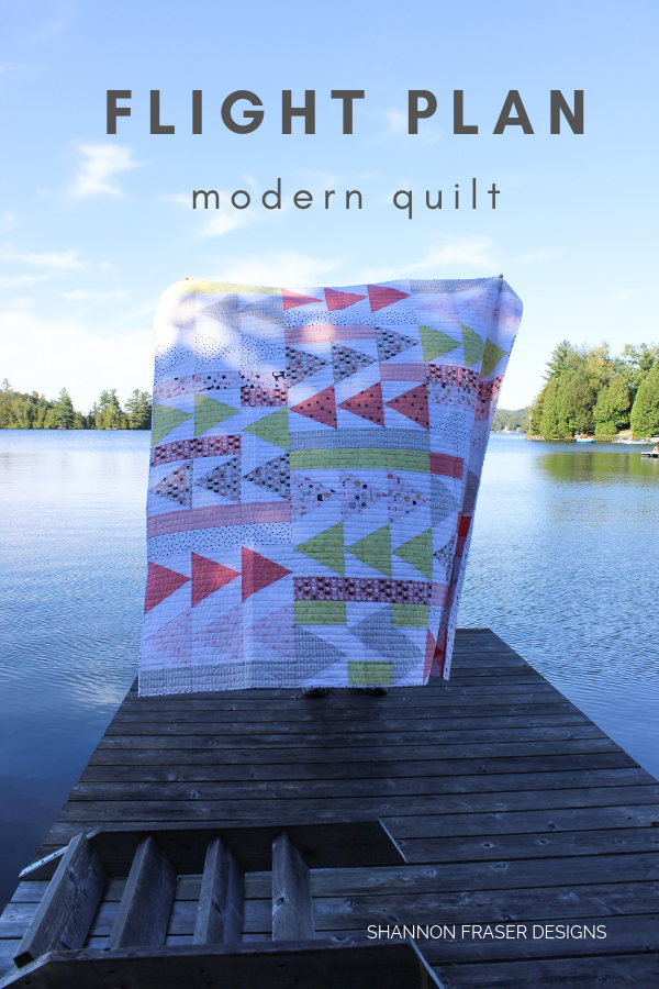Flight Plan quilt | Q2 2019 Finish-A-Long Proposed Projects | Shannon Fraser Designs