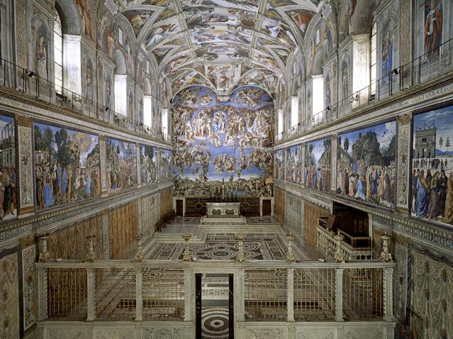 Musei-Vaticani-Cappella-Sistina