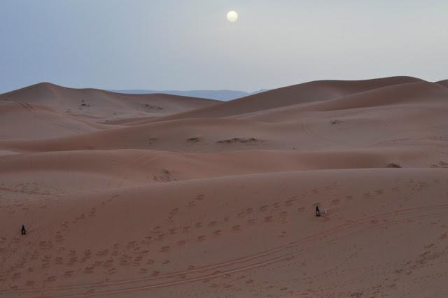 acampamento no Saara