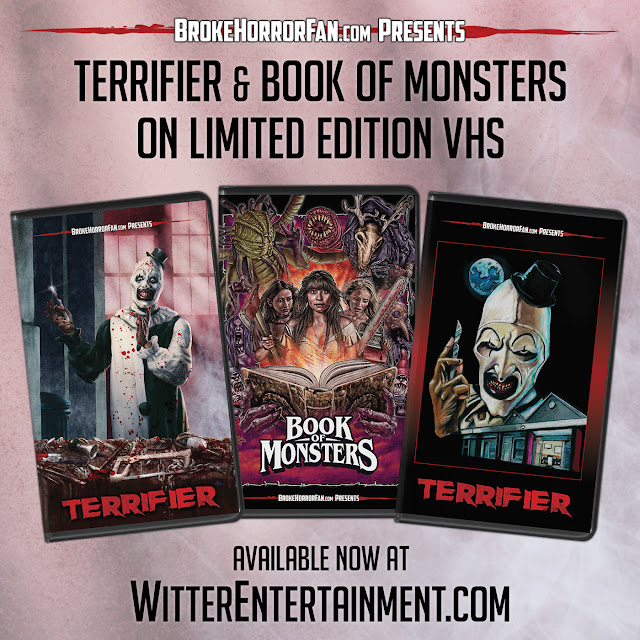 Terrifier and Book Of Monsters Images