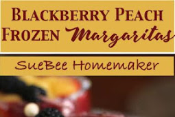 Blackberry Peach Frozen Margaritas