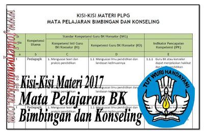 Materi BK PLPG 2017