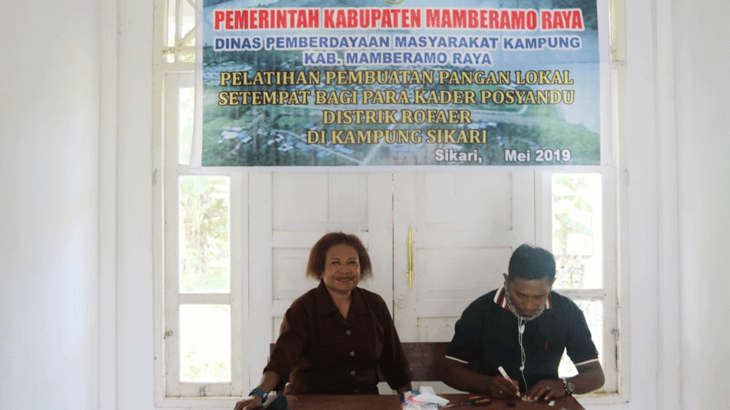 Dpmk Mambraya Fokus Angkat Makanan Berbahan Pangan Lokal Dharapos Papua