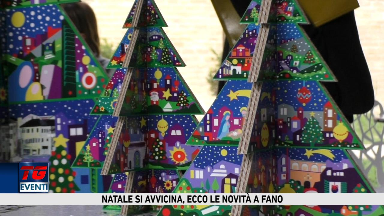 Albero Di Natale Con Foto Amici.Tg Eventi Fano L Albero Di Natale Di Fano Ora E