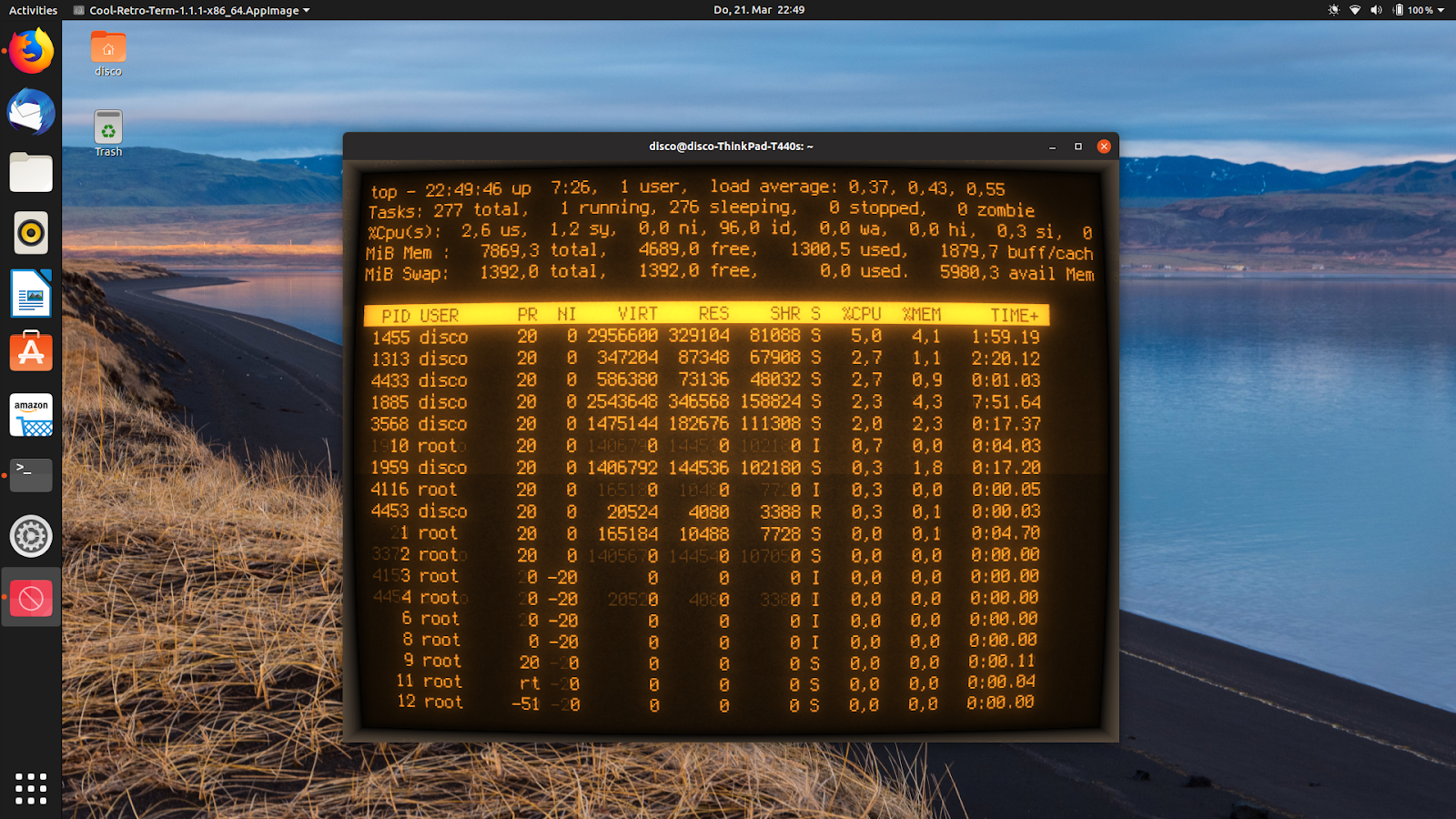 retro terminal ubuntu ppa