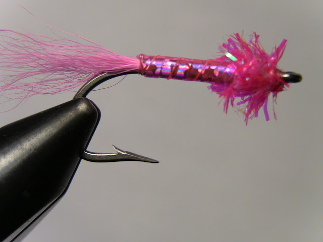 Tbar S Flies Fuzz Ball Pink Handlebar Pattern Step By Step