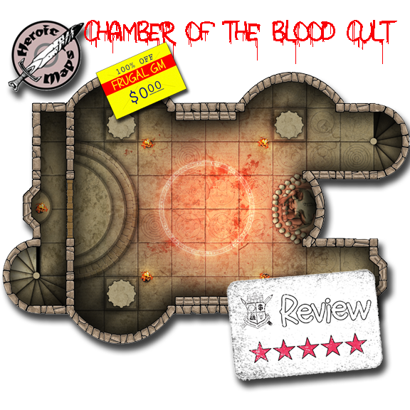 Frugal GM Review: Blood Cult Temple Preview