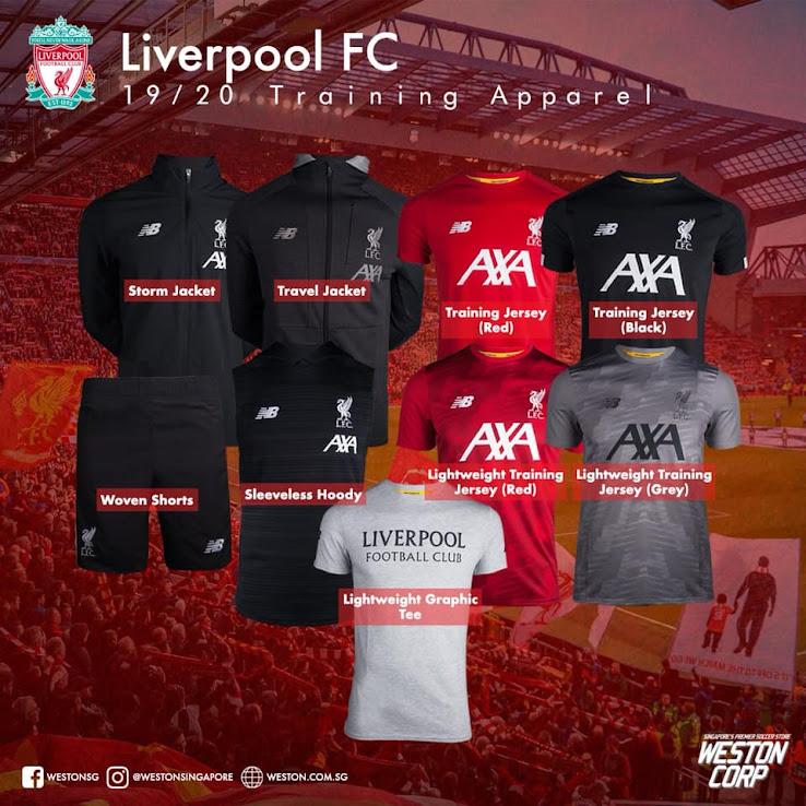 online retailer 69e31 f22fe New Sponsor: Full Liverpool 19-20 Training + Pre-Match ...