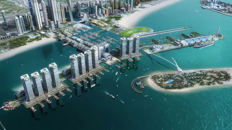 Dubai Harbour - Latest landmark project for 2017