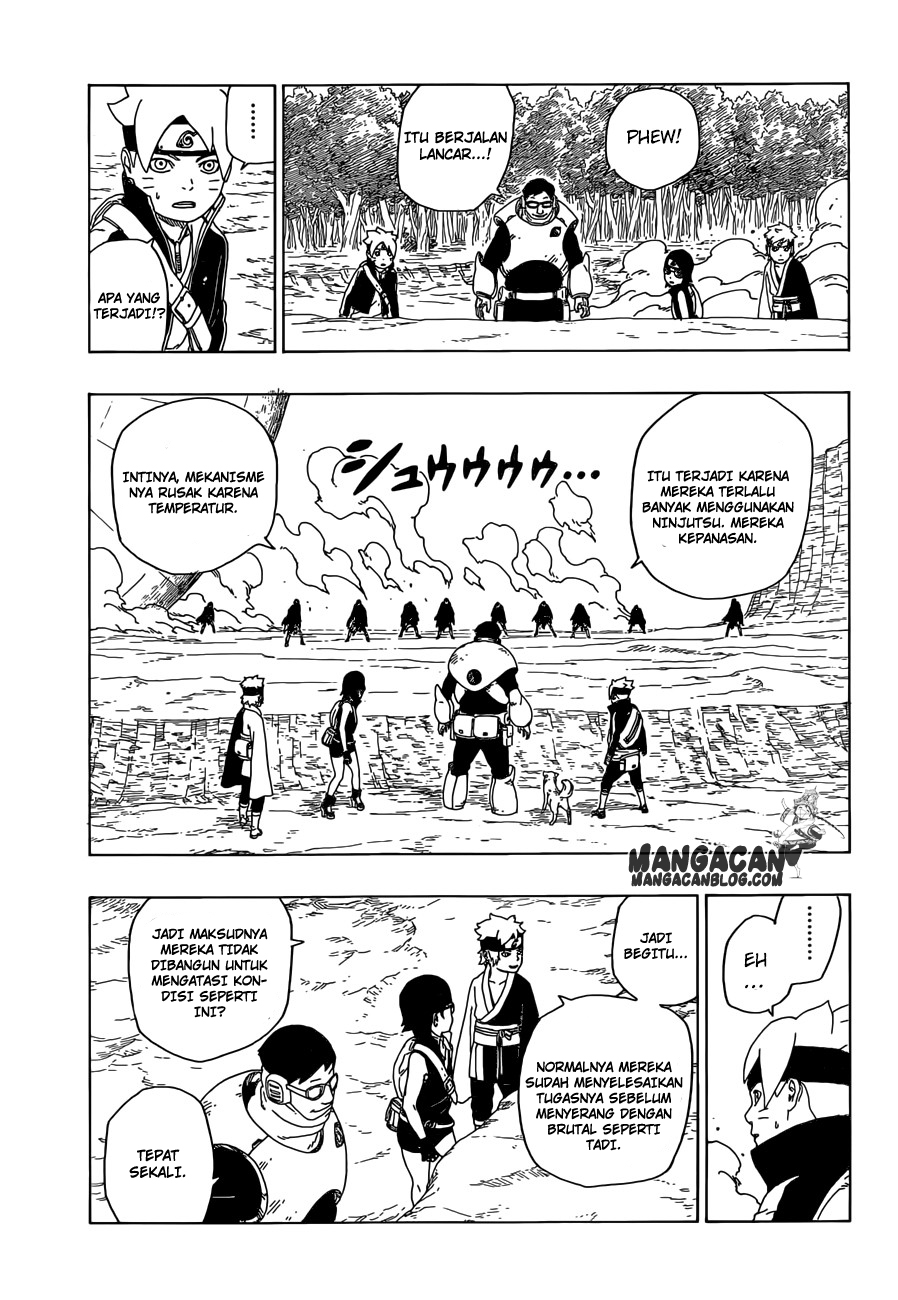 Manga Boruto Chapter 19 Bahasa Indonesia