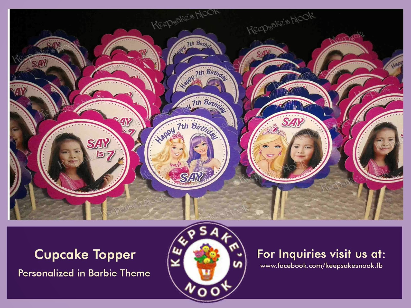 barbie birthday giveaways philippines