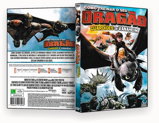 DVD – Como Treinar Seu Dragão Guardiões De Vanaheim – ISO