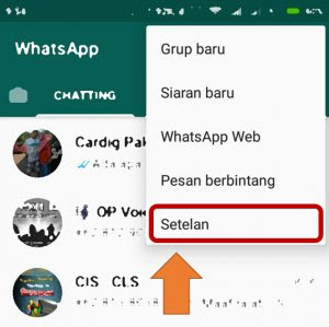 Setelan Whatsapp