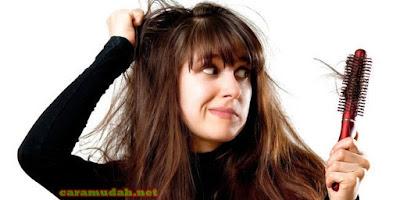 Cara Ampuh Mengatasi Rambut Rontok dan Kering Dengan Bahan Alami