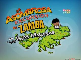 Zamba va al Museo de Malvinas