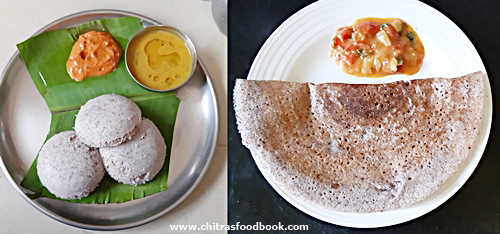 black rice idli