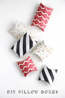Diy Pillow Boxes