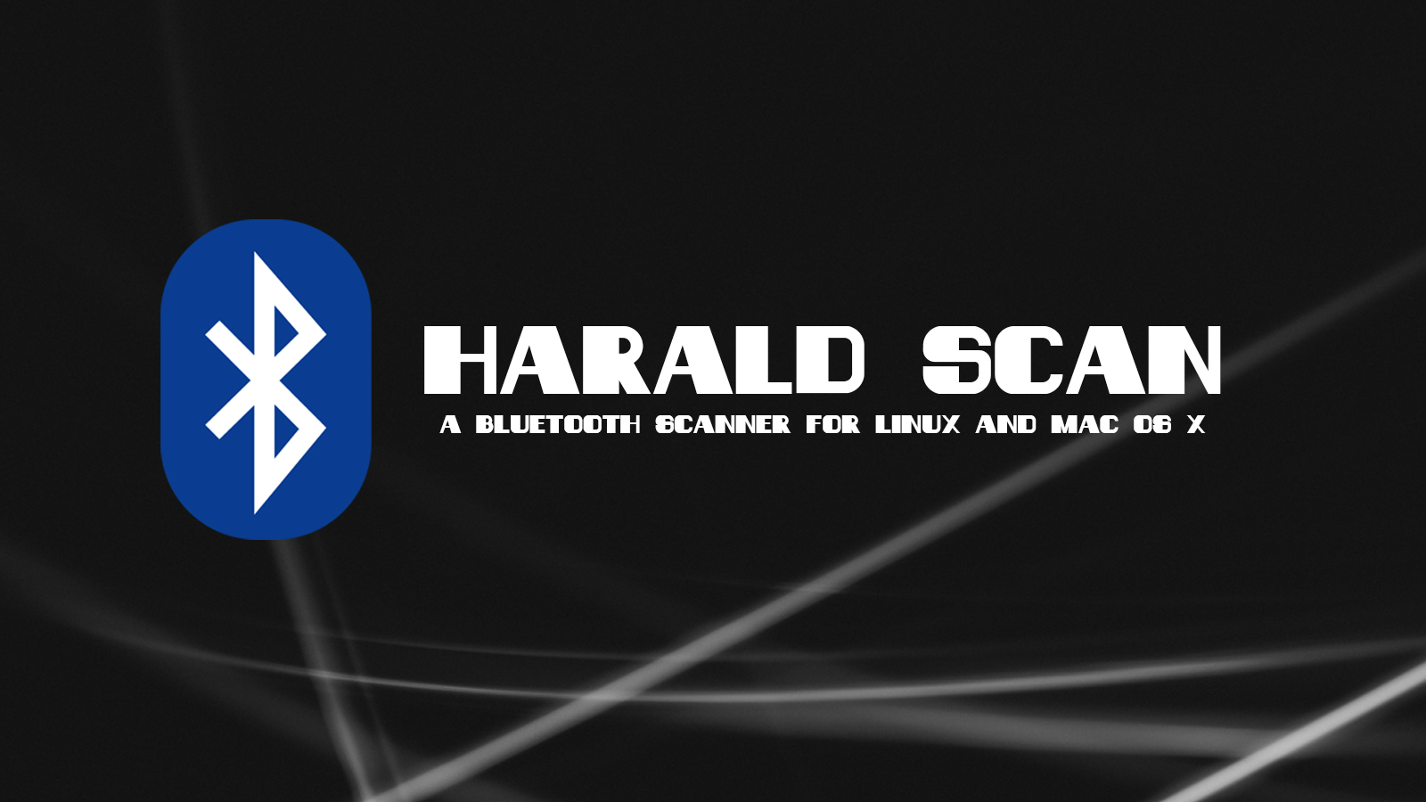 Harald Scan - Bluetooth Discovery Scanning